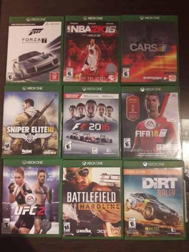 Canje Juegos Lote 9 Juegos De Xbox One X Juegos Play Stat. 4