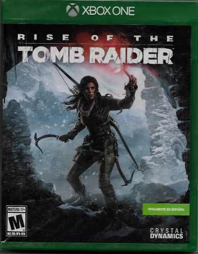 Juego Rise Of The Tomb Raider Para Xbox One