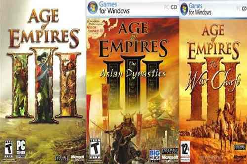 Age Of Empires 3 Todas Las Expansiones + Juego De Regalo