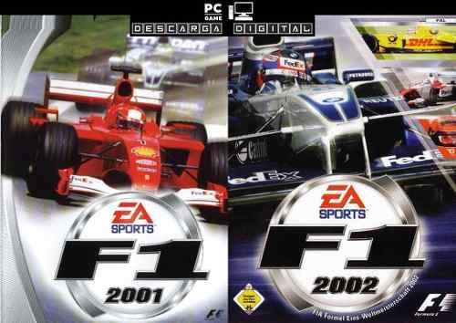 F1 2001 + F1 2002 (2 Juegos) Combo Pc Digital Entrega Ya