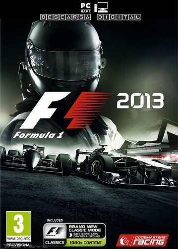 F1 2013 Juego Pc Digital Español - Formula 1 Entrega Ya