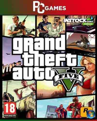 Juegos Grand Theft Auto V (2013) [pc] Digital