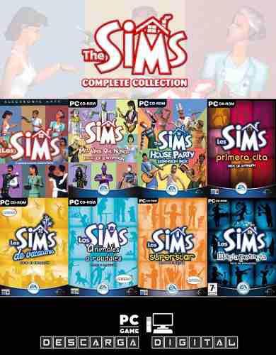 Los Sims 1 Completo Con Expansiones Juego Pc Digital