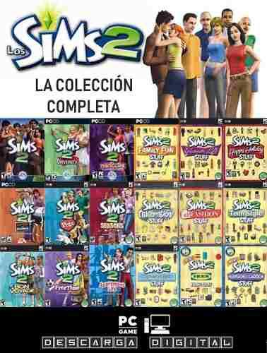 Los Sims 2 Completo Con Expansiones Juego Pc Digital