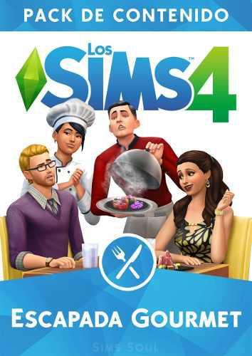 Los Sims 4 Escapada Gourmet - Expansion Juego Pc - Original