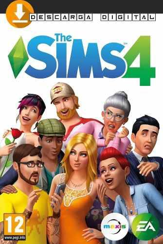 Los Sims 4 Juego Base Pc Digital - Sin Expansiones Liviano