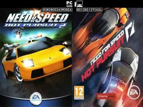 Need For Speed Hot Pursuit (2 Juegos) Pc Digital Español