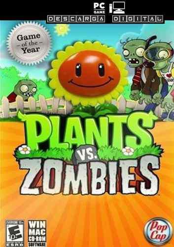 Plants Vs Zombies Goty Juego Pc Digital Español Entrega Ya