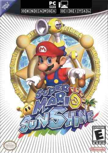Super Mario Sunshine - Juego Pc Digital Español Entrega Ya