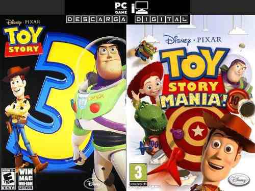 Toy Story 3 + Toy Story Mania! (2 Juegos) Pc Digital