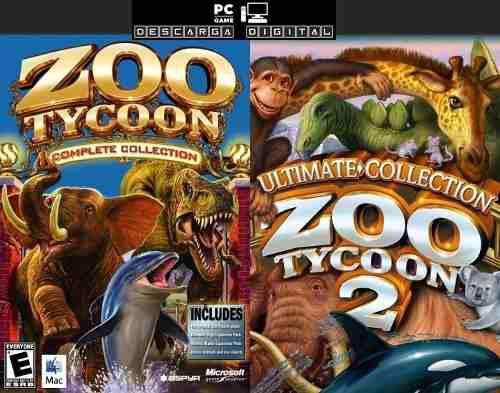 Zoo Tycoon 1 + 2 Completos (2 Juegos) Pc Digital Español