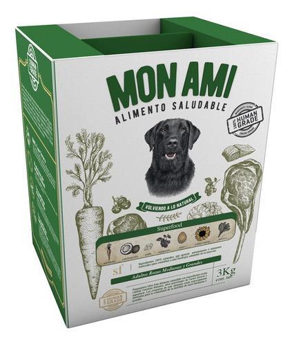 2 Mon Ami Ad. Med. & Lar. X 3 Kg C/u + 1.5 Kg Regalo!