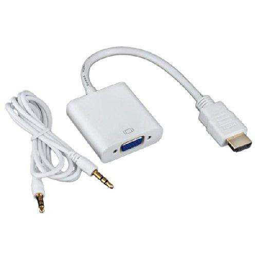 ADAPTADOR CONVERSOR HDMI A VGA ADAPTADOR NUEVO EN BLISTER
