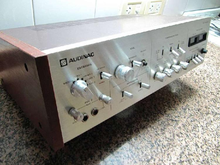 AUDINAC AT-1000 Amplificador 60 W RMS Para reparar o