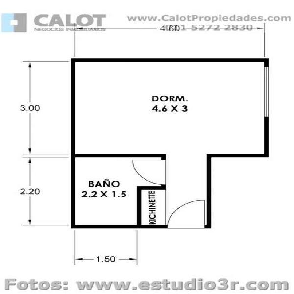 Alquiler Temporal en Barrio Norte - Guido 1900