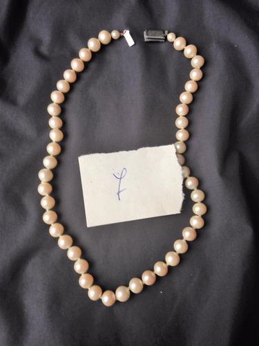 Antiguo Collar De Perlas Fantasia 87