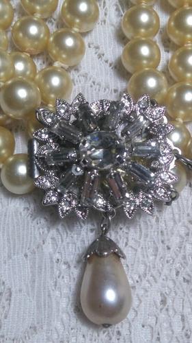 Collar Perlas Fantasia