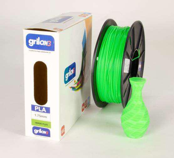 Filamento Pla Impresora 3d 1.75mm Grilon3 Color Amarillo 1kg