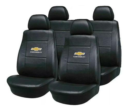 Fundas Asiento Cuero Chevrolet Corsa Agile Astra Con Logo