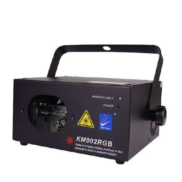 Laser Big Dipper Km002 Rgb Rojo Verde Azul Dmx Audiorítmico
