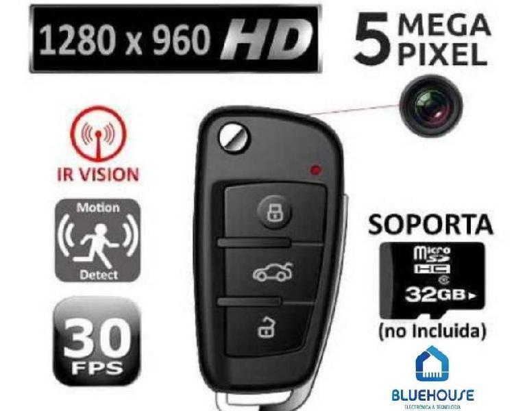 Llave De Auto S820 Mini Camara Espia Oculta Hd Mic Seguridad