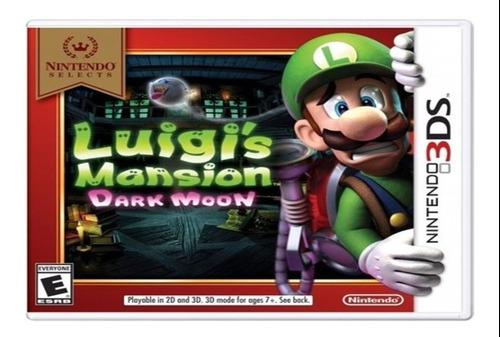 Luigis Mansion Dark Moon 3ds Fisico Sellado