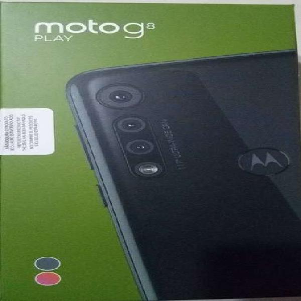MOTO G8 PLAY 32GB - NUEVO MODELO - EXCELENTE EQUIPO - CAMARA