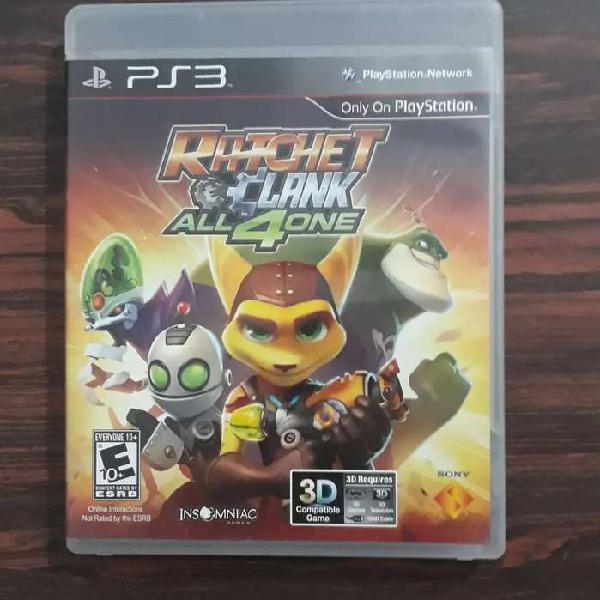 Ratchet & Clank: All 4 One   PS3 [Usado]
