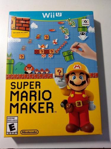 Súper Mario Maker Con Ideas Book Wii U Americana