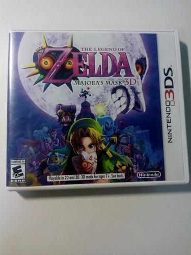 The Legend Of Zelda Majoras Mask Nintendo 3ds!
