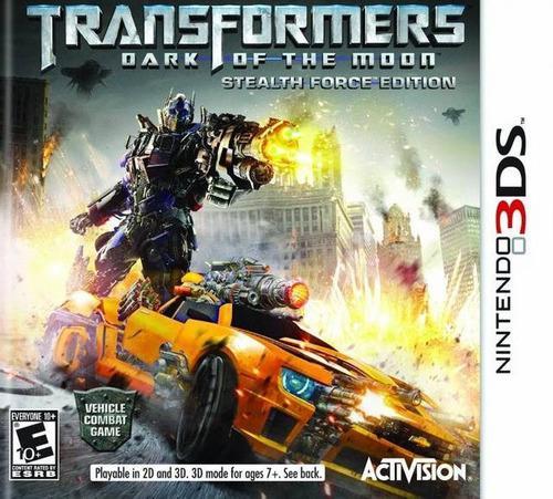 Transformers Dark Of The Moon Nuevo Nintendo 3ds Dakmor