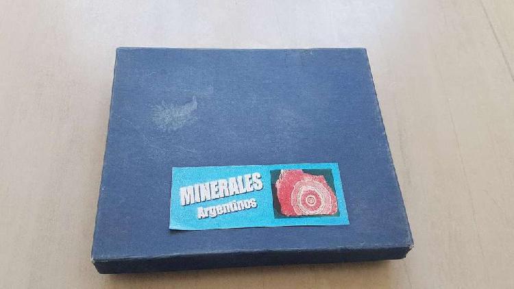 Vendo Coleccion de Minerales