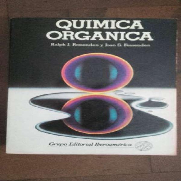 Vendo libro de química orgánica Fessenden-Fessenden