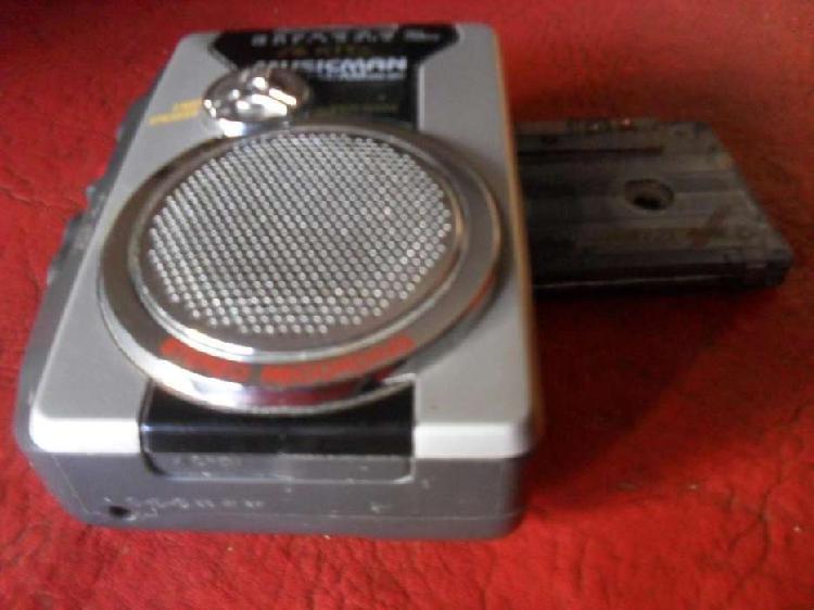 WALKMAN AKITA. MUSICMAN PASACASET Y RADIO AM FM –