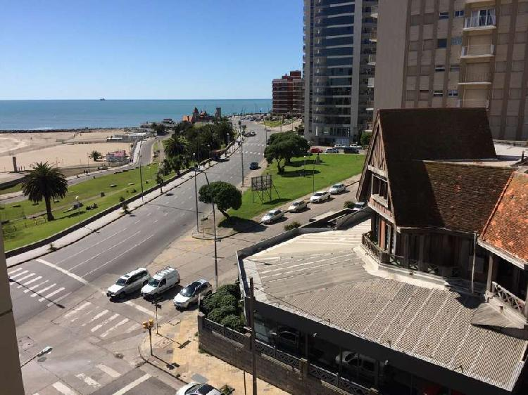 Alquiler Temporario 2 Ambientes Edificio Havanna Vista Mar