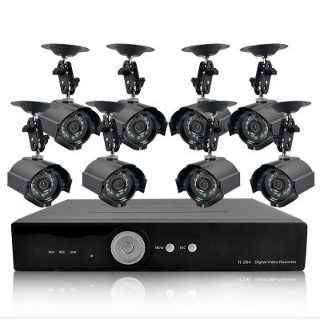 CAMARAS DE SEGURIDAD CCTV X 8 CAMARAS KIT COMPLETO LISTO