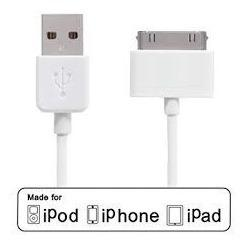 Cable Datos Usb iPod Touch Nano iPhone 4 4s 3g iPad 1 2 3 4