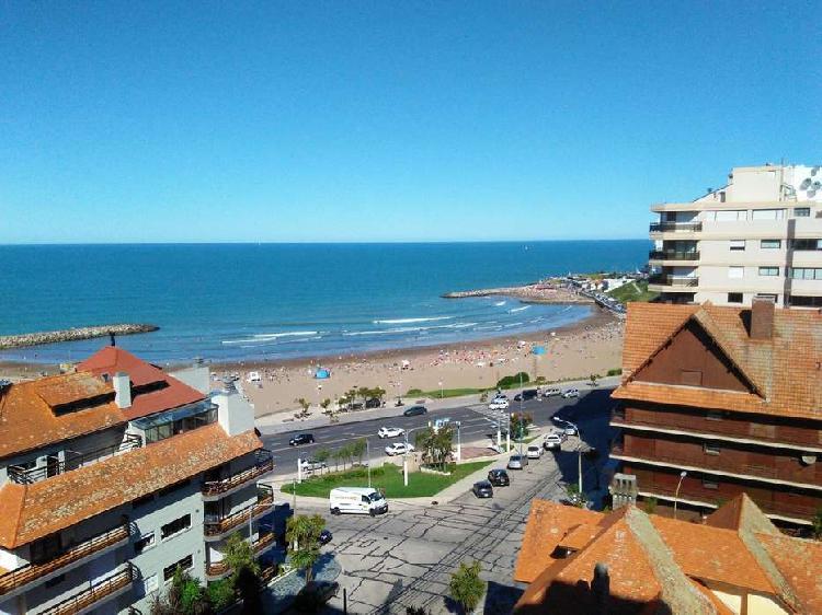 Depto 3 ambientes con vista panorámica al Mar y cochera