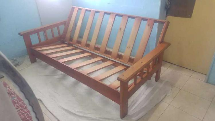 Futon cama sin colchon
