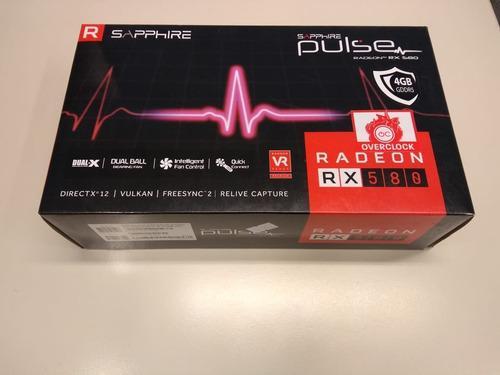 Placa De Vídeo Amd Rx 580 Sapphire Pulse 4gb