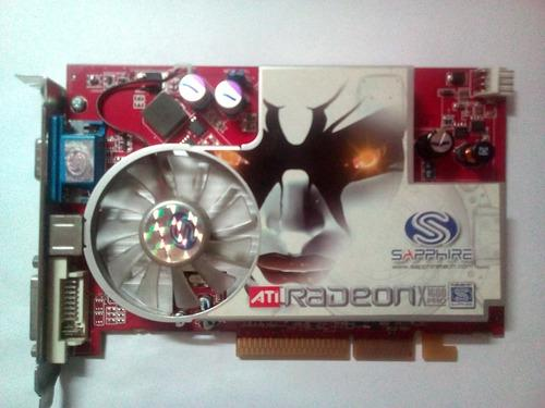 Placa De Video Agp Ati Radeon X1600pro