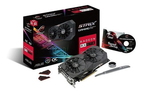 Placa Video Asus Rx570 Strix Amd Radeon Rx 570 4gb