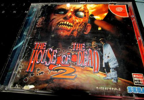The House Of The Dead 2 - Sega Dreamcast/ideal Coleccionista
