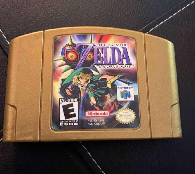 The Legend Of Zelda Majora's Mask Nintendo N64 100% Original