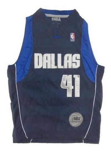 Camiseta Basquet Adultos Dallas Licencia Oficial