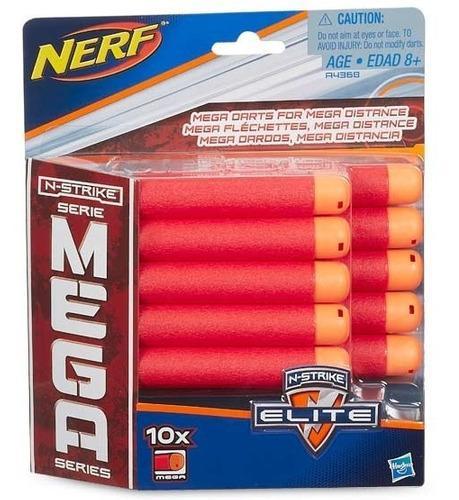 Dardos Nerf Mega Series X 10 Unidades