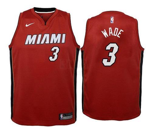 Musculosa De Miami Heat Nike 2019/20 #3 Wade