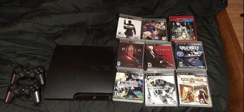 Playstation 3 160gb + 9 Juegos