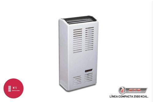 Calefactor Ctz L.compacta 2500 Cal.sal. Lateral T.balanceado