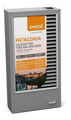 Calefactor Emege 2019 Patagonia 9019 Tb 1900 Kcal Estufa